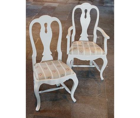 Chair in Rococo Plain Armchair style (item no: 2328