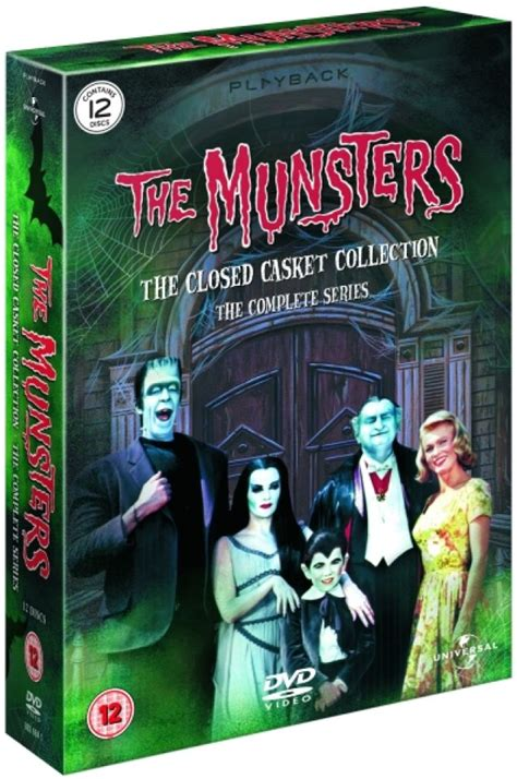 The Munsters - The Complete Series DVD | Zavvi