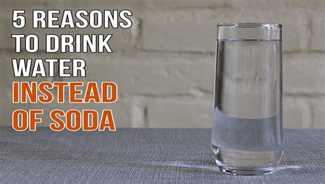 WATCH: 5 Reasons To Drink Water Instead Of Soda