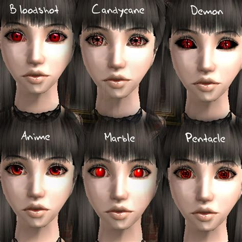 Mod The Sims - Red Eyes