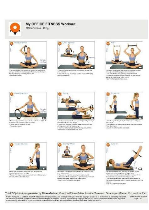 pilates exercise with ring - Google Search | Pilates ring