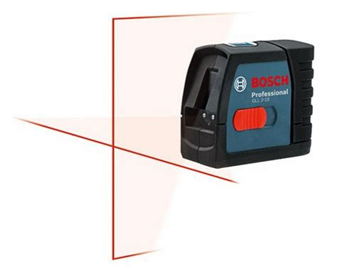 New Bosch GLL 2-15 Compact Cross-Line Laser Level - Tool
