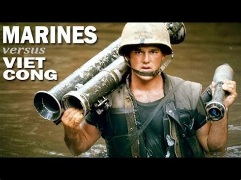 US Marines Against the Viet Cong | US Marines on Patrol in
