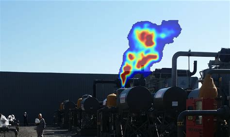"""High-tech video camera """"sees"""" gas leaks as they happen"""