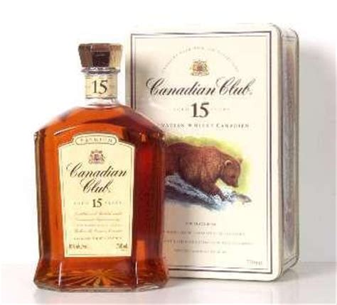 Canadian Club 15 Year Bear Motif 750ml – The Online Whisky