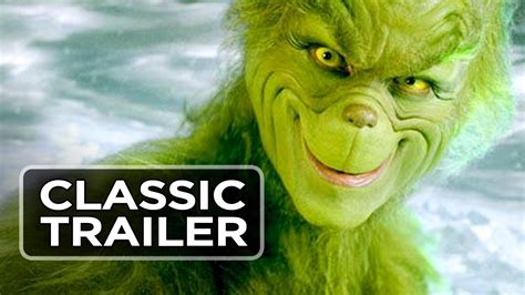 How the Grinch Stole Christmas Official Trailer #1 - Clint