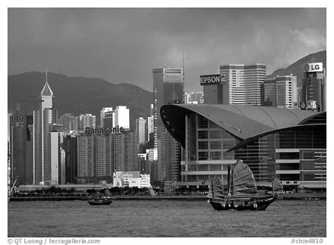 Black and White Picture/Photo: Old traditional junk in the
