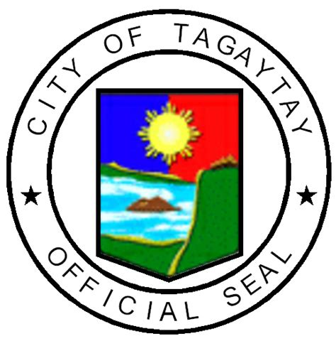 Tagaytay City Official Seal | Texan in the Philippines