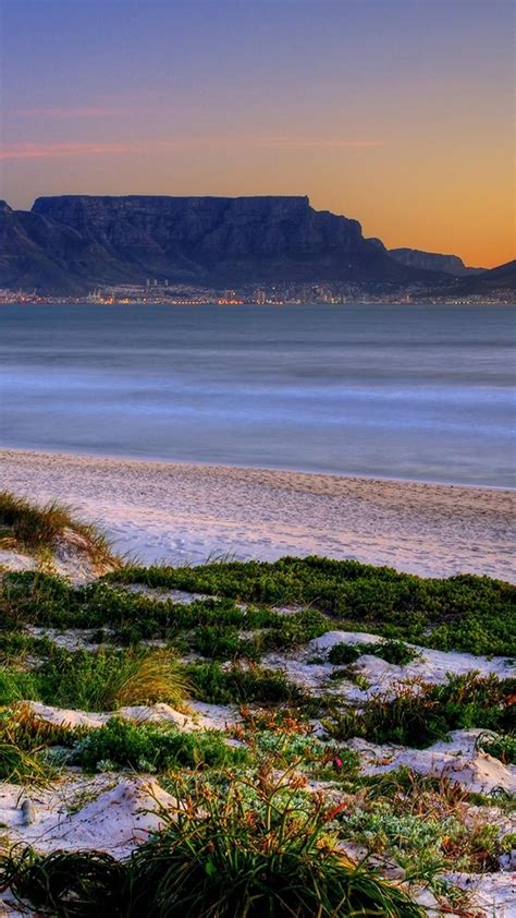 Cape town south africa table mountain landscapes nature