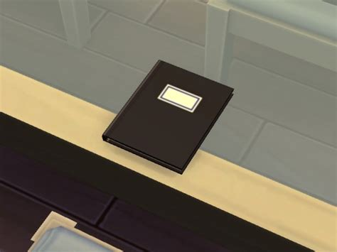 Mod The Sims: Notebook V1 by plasticbox • Sims 4 Downloads