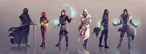 Dishonored, Assassins Creed, Mass Effect, The Elder