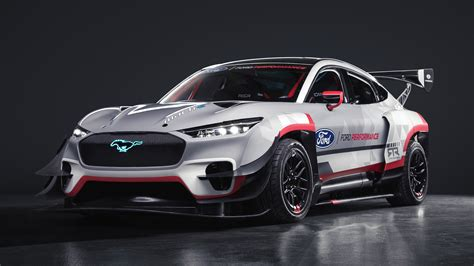 New Ford Mustang Mach-E 1400 prototype racer unveiled