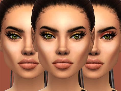 The Gold Eyeshadow Palette by PrimroseSmith at TSR » Sims