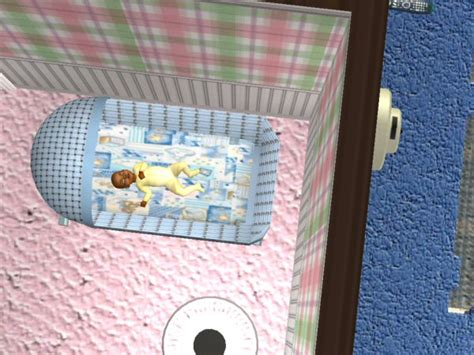 Mod The Sims - Bassinet - New Mesh - By Request