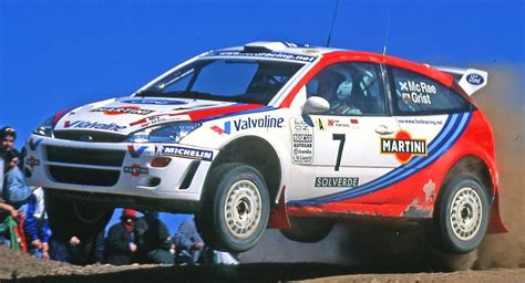 Colin McRae's 1999 Ford Focus WRC Is A Piece Of Rallying