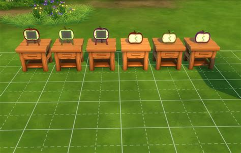 Mod The Sims - Apple Series - Animal Crossing Inspired
