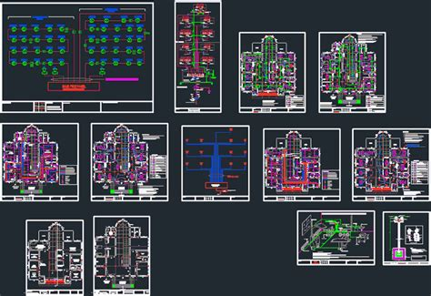 Hospital Electrical Project DWG Full Project for AutoCAD