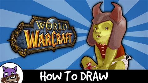 How To Draw - Thrall/Go'el (Warcraft Orc Baby) - YouTube