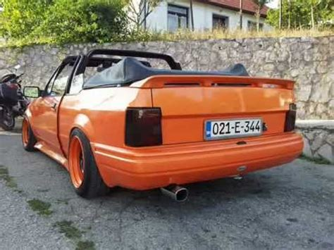 ford escort cabriolet project - YouTube