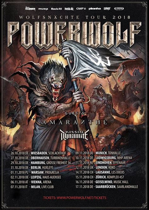 """Powerwolf reveal details of """"The Sacrament of Sin"""" new"""