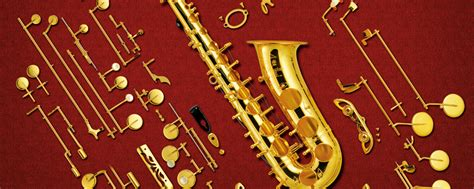 The Structure of the Saxophone:Learn the names of the
