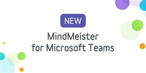 Now You Can Mind Map in Microsoft Teams, Using MindMeister