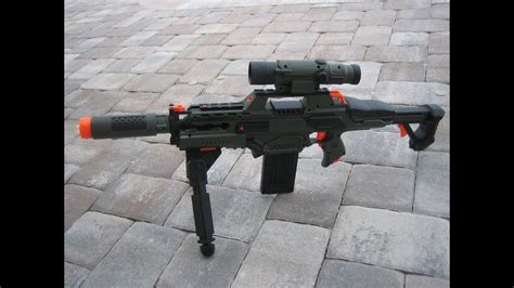 """[MOD] Nerf Rapidstriked Modifications - """"Camo Sniper Rifle"""