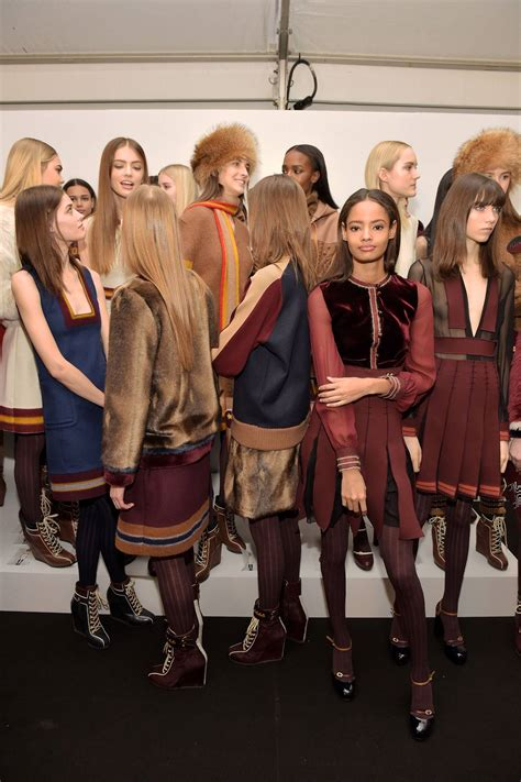 BACKSTAGE TOMMY HILFIGER FW 2015-16 WOMEN'S COLLECTION
