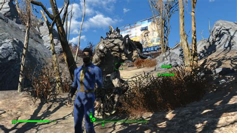 Fallout 4 mod lets you have most creatures as a companion