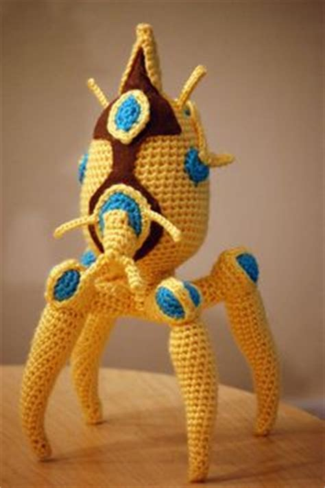 A Plush Zerg Overlord! Behold the terrifying Cuteness! The