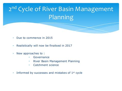 Regulations, timetable, challenges and key issues for