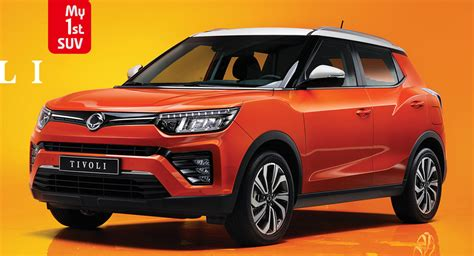 Facelifted SsangYong Tivoli Bows In Korea With New Turbo