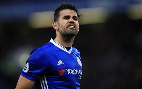 Diego Costa continues feud with Chelsea despite being