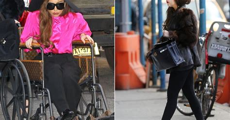 Lady Gaga Back On Her Feet (And In Heels) Following Hip