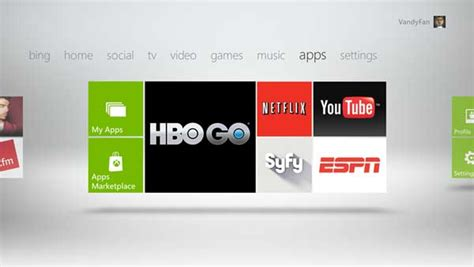 Xbox 360 to get 40 new entertainment apps on Xbox Live