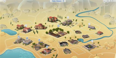 The Sims 4: Map View is getting a colorful update!