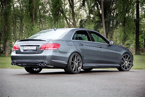 Carlsson Pumps up Understated Non-AMG E-Class W212