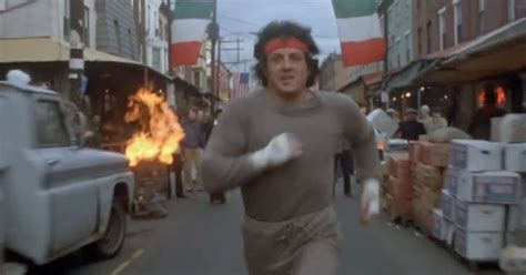The Famous Training Run That Rocky Goes On In 'Rocky II