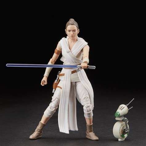 Star Wars The Black Series Rey and D-O Figures – Hasbro Pulse