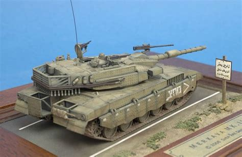 Building and Painting the Revell 1/72 Merkava Mk