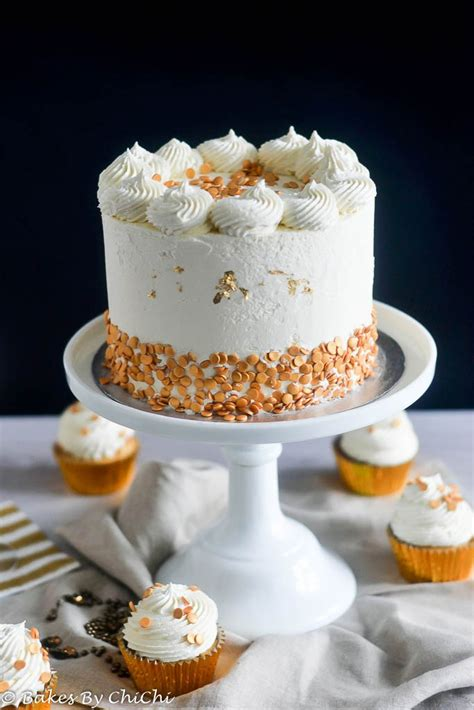 Champagne Cake and White Chocolate Buttercream | Bakes by