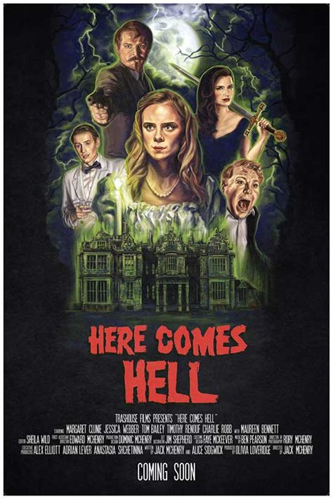HERE COMES HELL Trailer release - British Horror Comedy