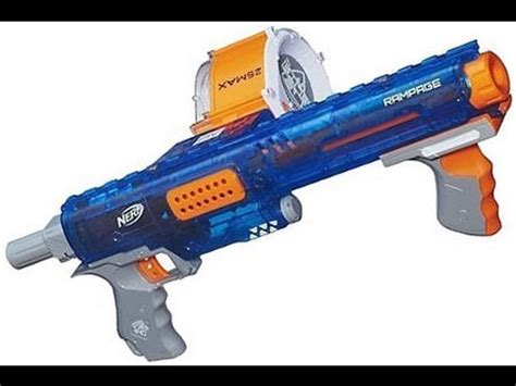 Nerf N-strike Elite Sonic ice Rampage review and firing