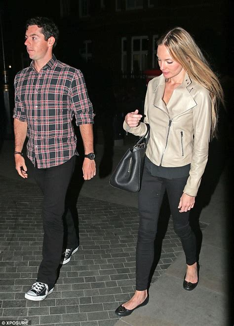 Rory McIlroy steps out for date night with new girlfriend