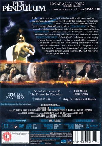 Pit and the Pendulum (1990) (Import) - DVD - Discshop