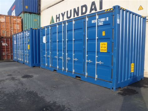 Container 20 fot Open Side High Cube - Lundby Containerservice