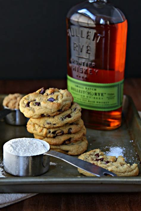 Whiskey Brown Butter Chocolate Chip Cookies - bell' alimento