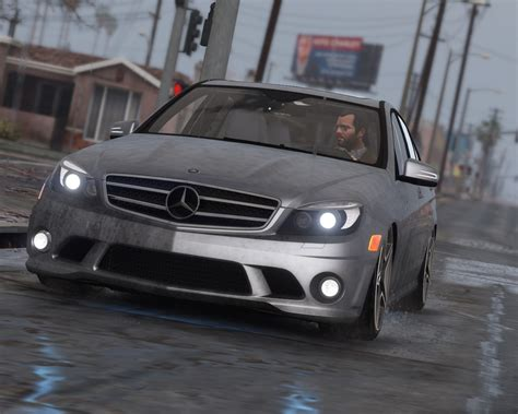 2011 Mercedes-Benz C63 AMG (W204) [Add-On / Replace