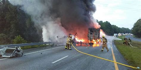 One dead, two injured in fiery head-on crash on I-85