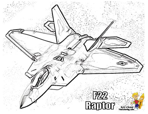 Fierce Airplane Coloring Pictures | Military Jets | Free